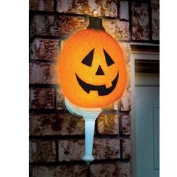 Sparkling Pumpkin Porch Light Cover (1 count)