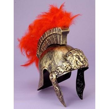 Gold+Roman+Helmet++