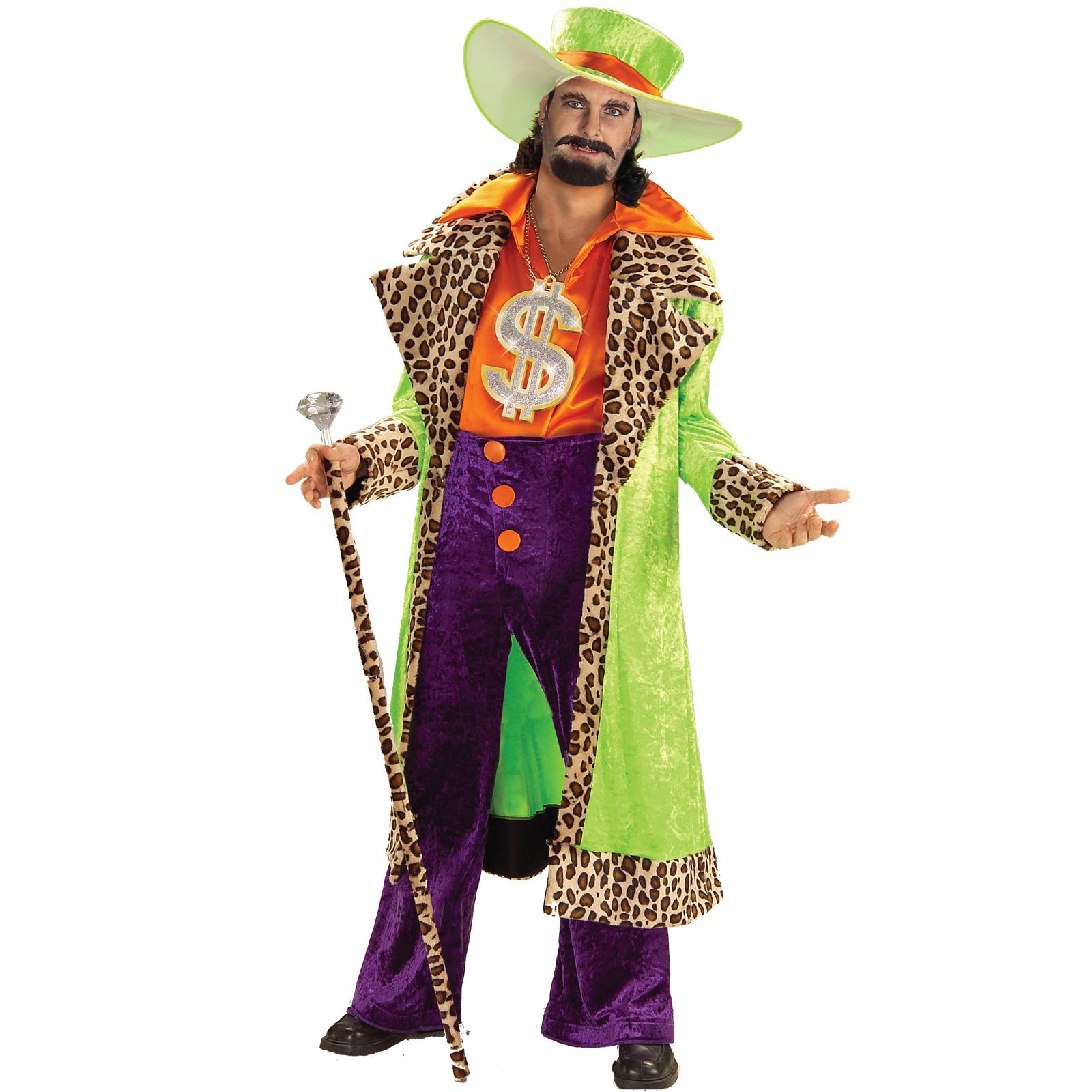 Pimp Halloween Costumes Men