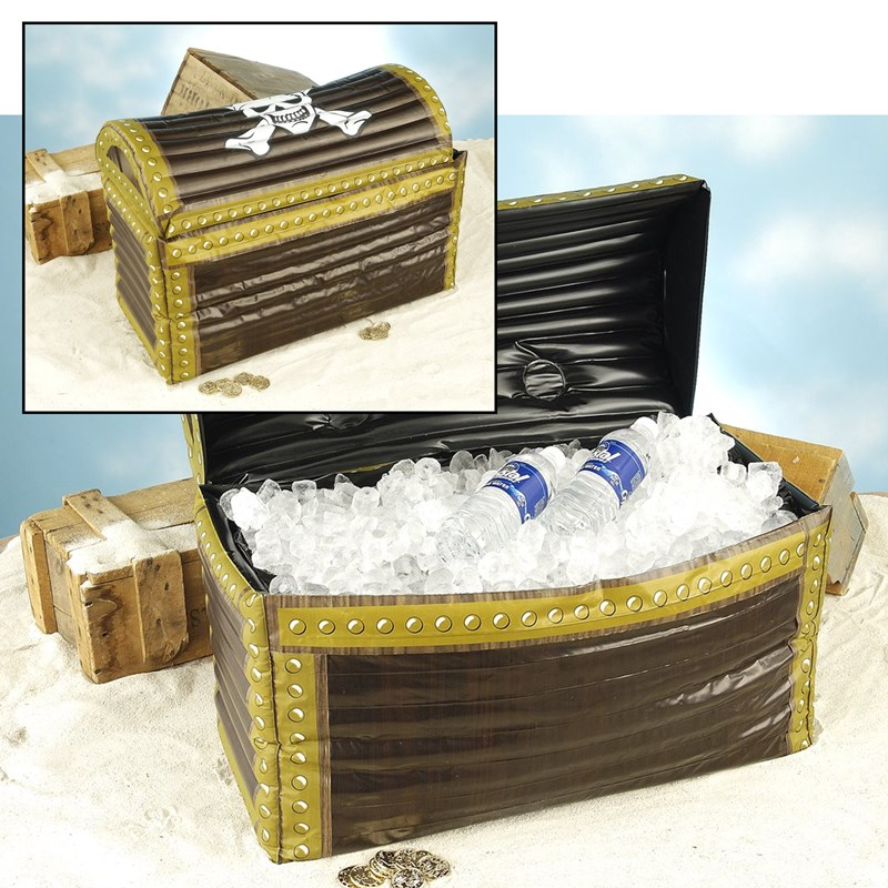 Pirate Inflatable Treasure Chest for the 2015 Costume season.