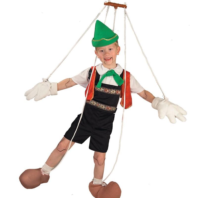 Pinocchio Child Costume for the 2015 Costume season.