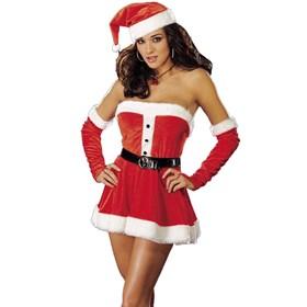 Santa's Sweetie Red  Adult