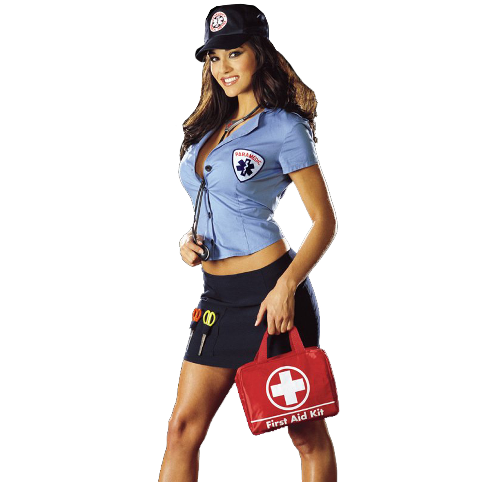 sexy paramedic - Naughty Librarian Halloween Costume