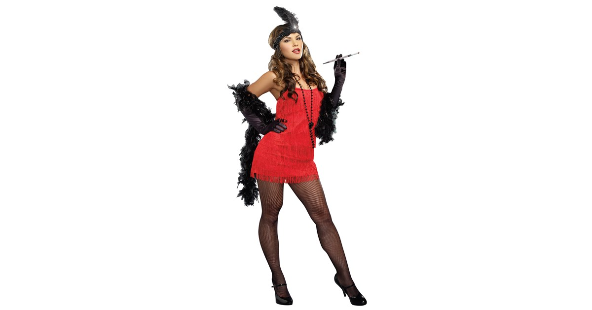 20s Red Flapper Dress   BuyCostumes.com