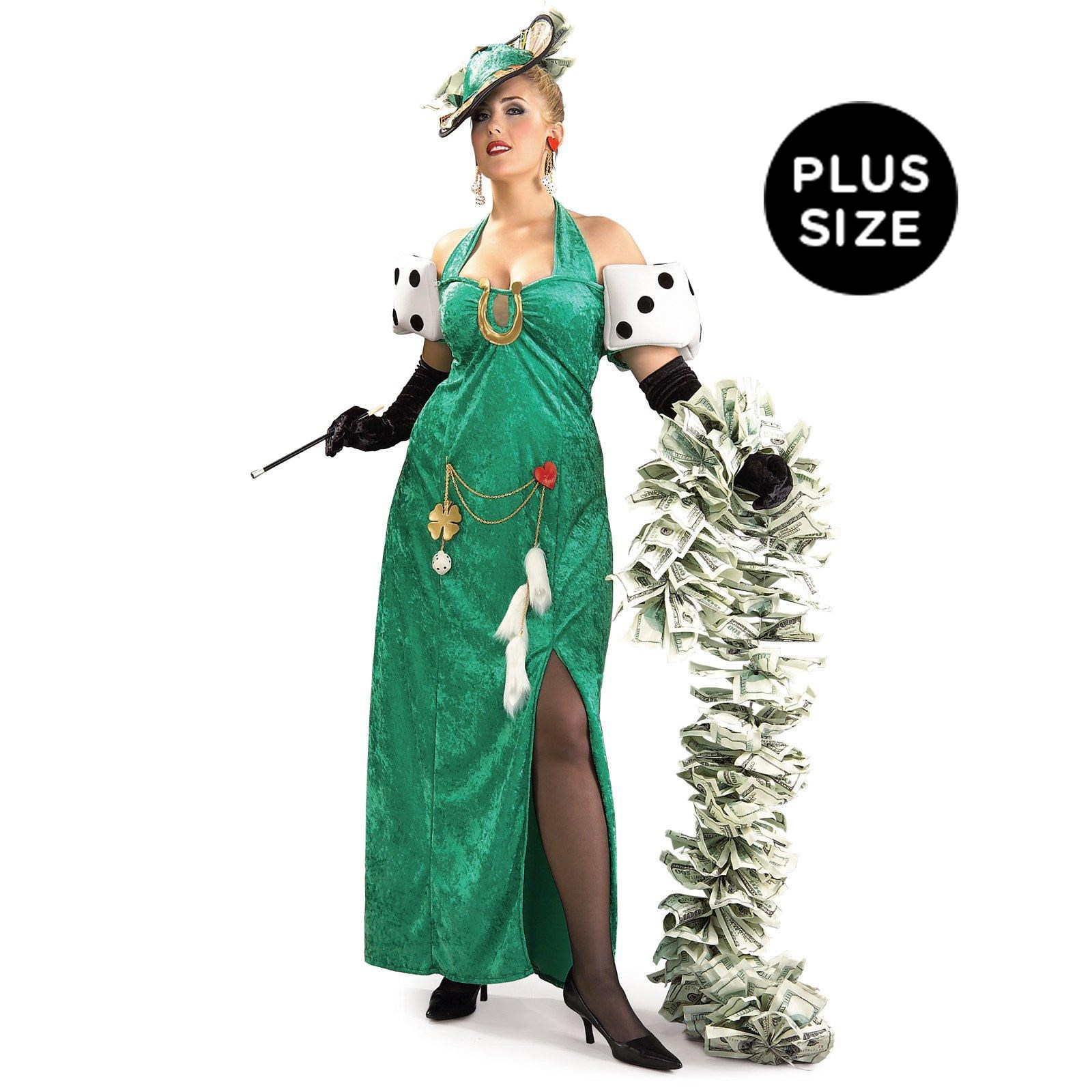 Lady Luck Adult Plus Costume
