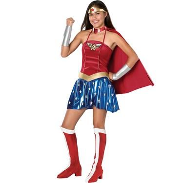 Justice League DC Comics Wonder Woman Teen Costume