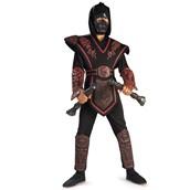 Red Skull Ninja Deluxe Child Costume