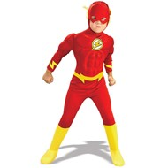 DC Comics The Flash Muscle Chest Deluxe Child