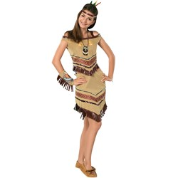 Native Princess Teen Costume