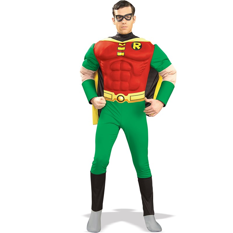 DC Comics Robin Muscle Chest Adult for the 2015 Costume season.