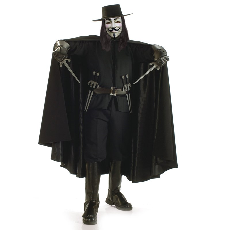 V for Vendetta Grand Heritage Collection Adult Costume for the 2015 Costume season.