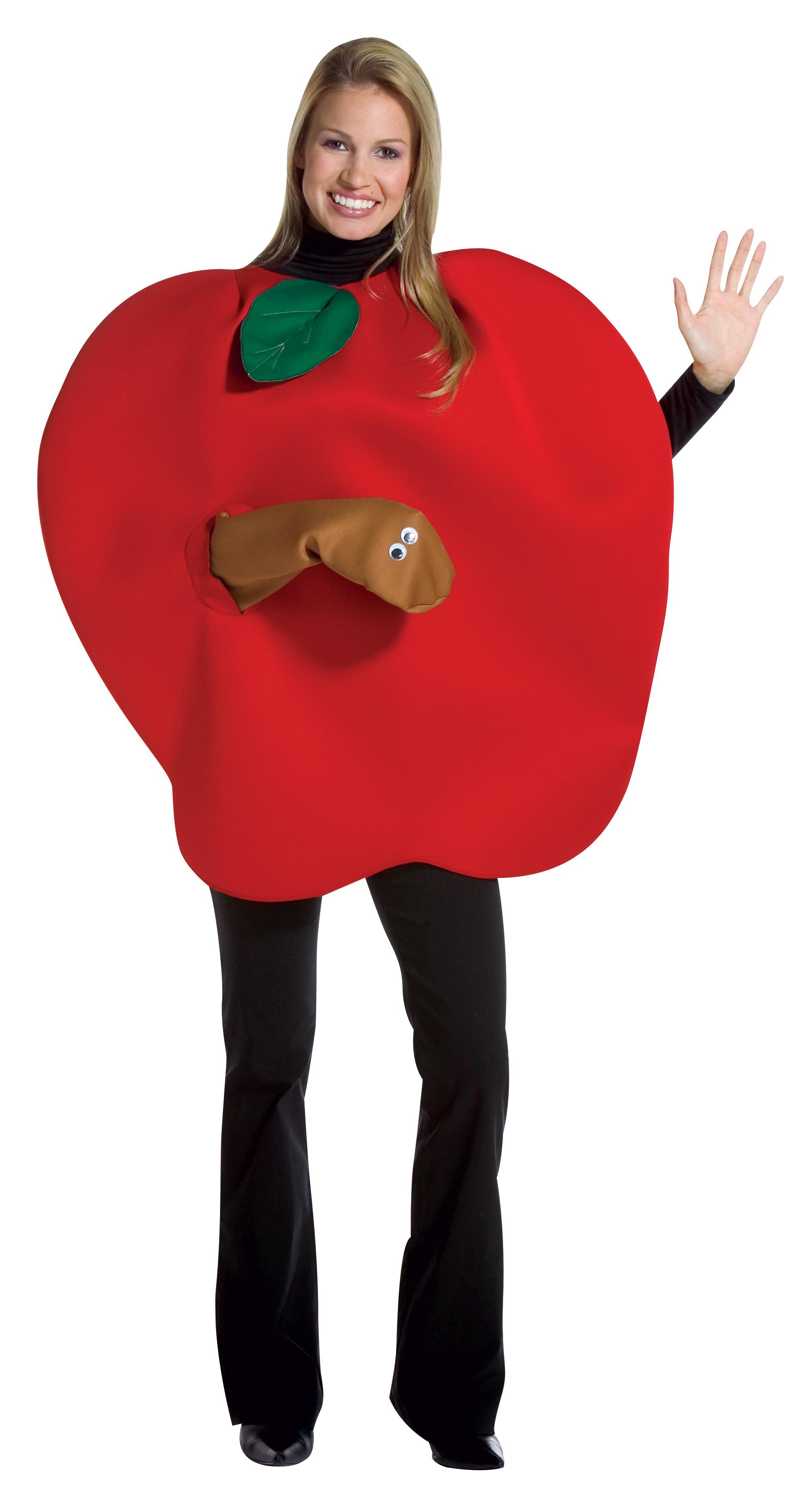 Костюм яблока своими руками 15
