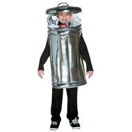 Trash Can Child Costume