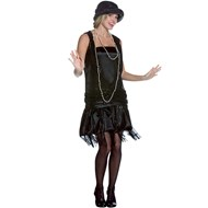 Gatsby Girl (Black)  Adult