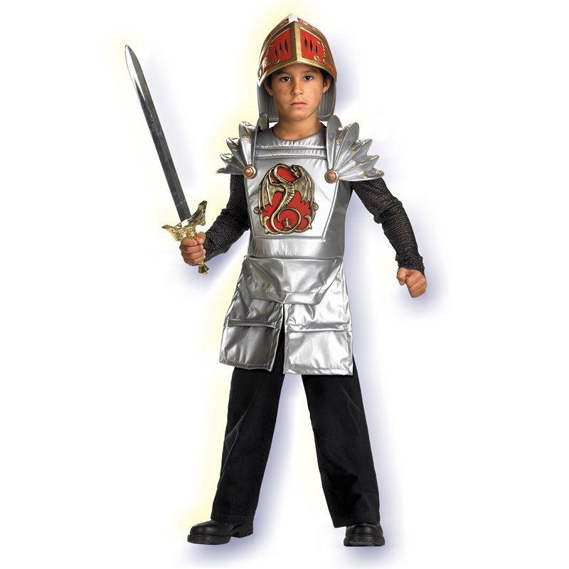 Knight of the Dragon Child Costume for the 2015 Costume season.