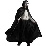 Masquerade Ball Cape with Mask Adult