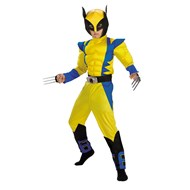 X-Men Marvel Wolverine Muscle Deluxe Child