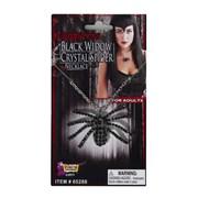 Deluxe Black Widow Necklace
