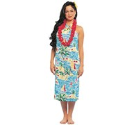 Hawaiian Beauty Dress  Adult