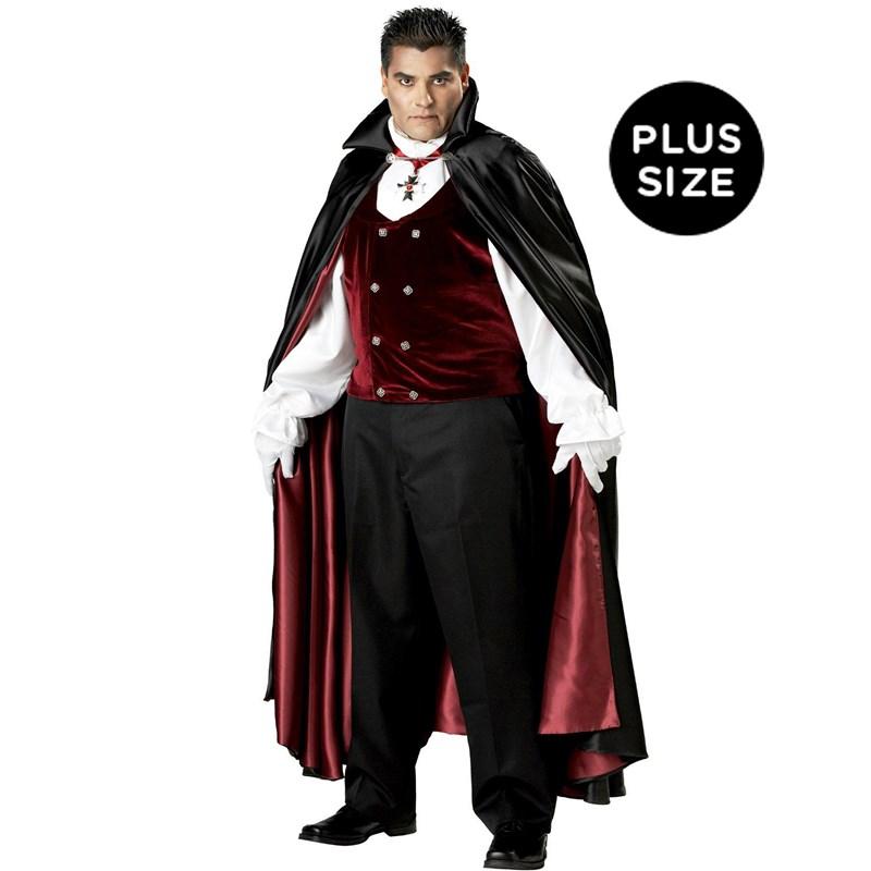 Gothic Vampire Elite Collection Adult Plus Costume for the 2015 Costume season.