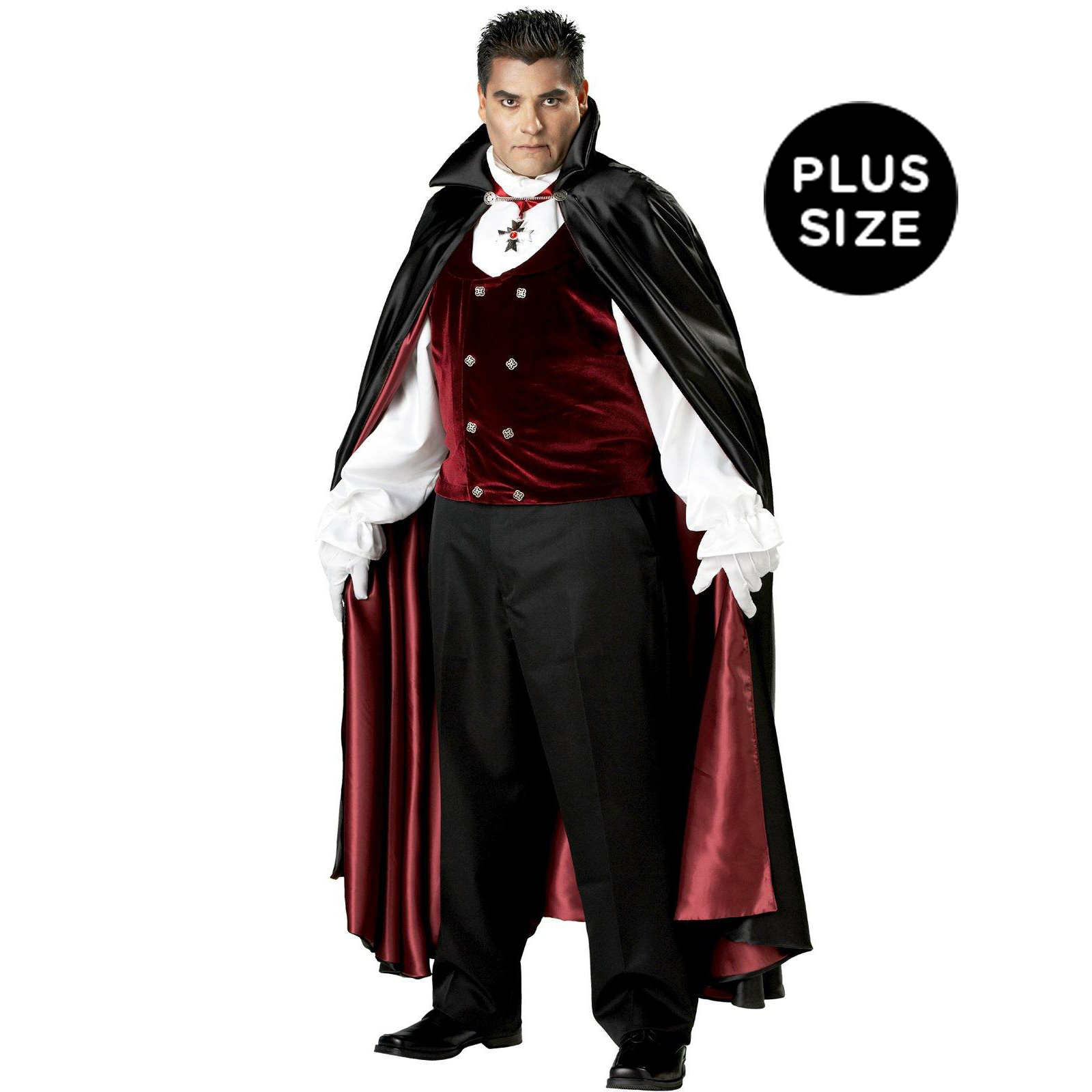 Gothic V&ire Elite Collection Adult Plus Costume ...  sc 1 st  Hot Gothic Stuff & Gothic Halloween Costumes