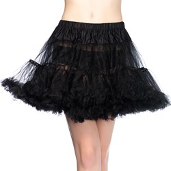 Layered Tulle (Black) Petticoat