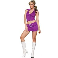 Soda Pop Girl (Purple)  Adult