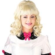 60's Teaser Wig- Blonde