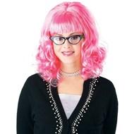 60's Teaser Wig - Pink
