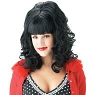 60's Teaser Wig - Black