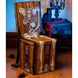 Skeleton Chair Cover Spooky Scenes