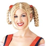 Milkmaid Wig -Blonde