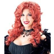 Saloon Girl Wig - Auburn