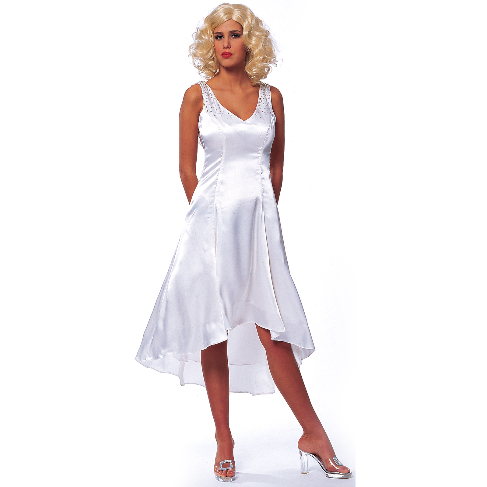 Ann darrow white dress
