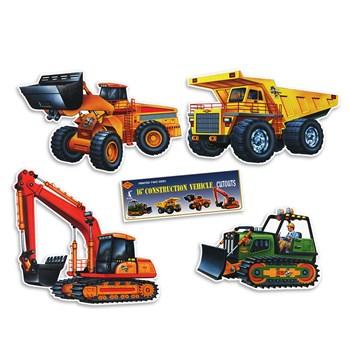 Construction Vehicle Cutouts 16