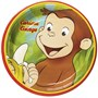Curious George 7 Dessert Plates (8 count)