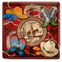 Giddy Up Cowboy 7 Square Dessert Plates (8 count)