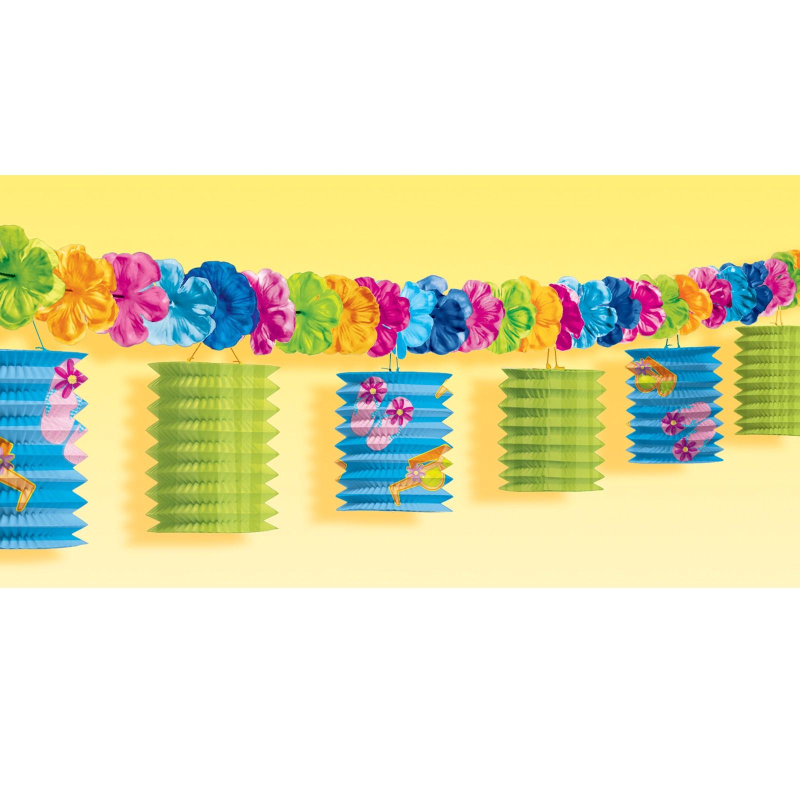 Image of 10' Paper Lantern Garland