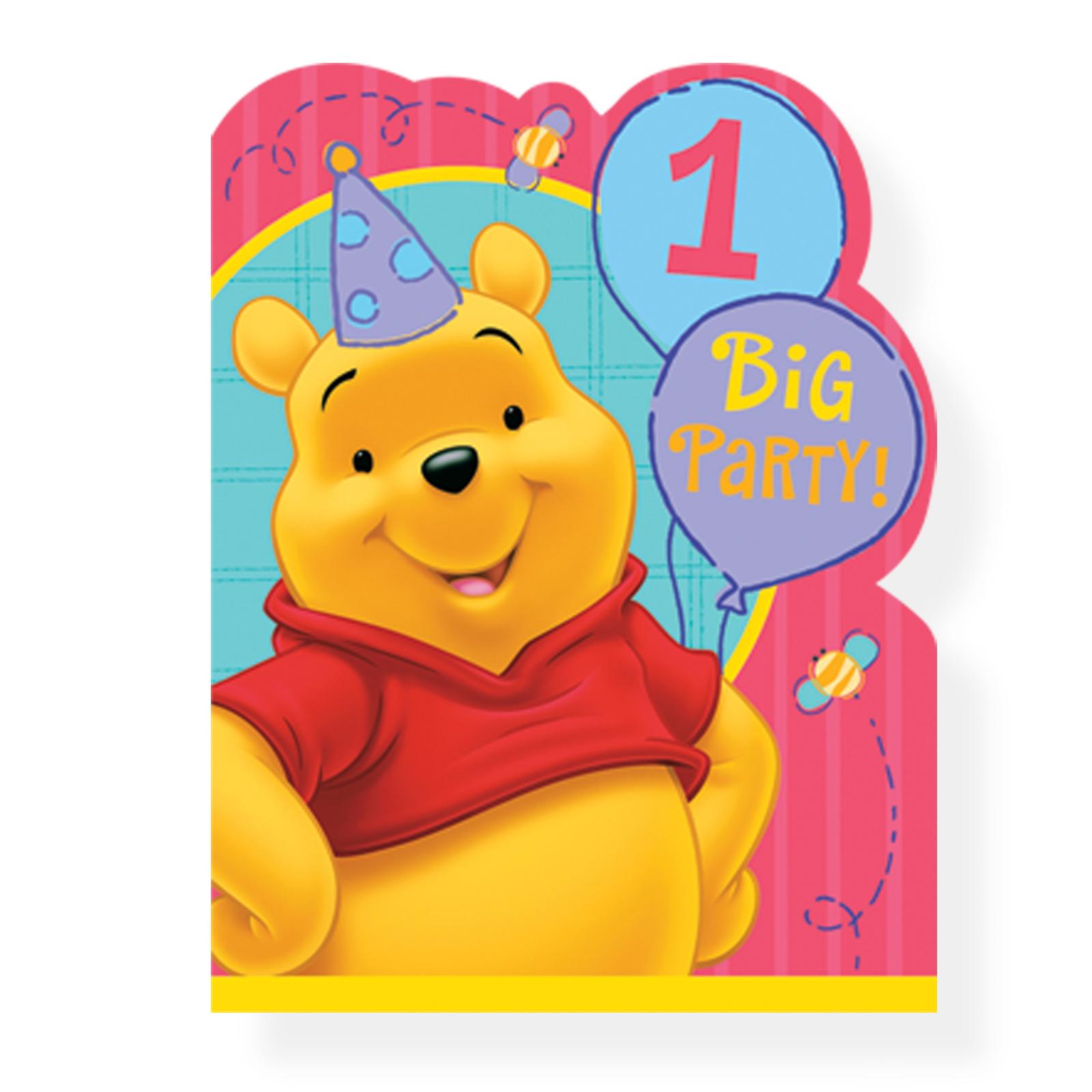 Поздравление с днём рождения от винни пуха в картинках