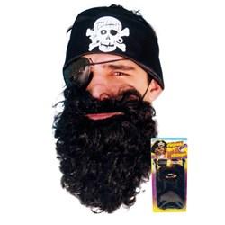 Black Pirate Beard