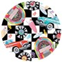 Sock Hop 10 Dinner Plates (8 count)