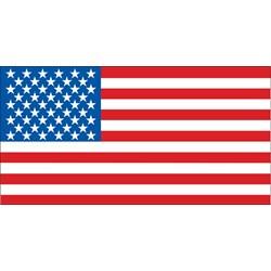 10' American Flag Banner
