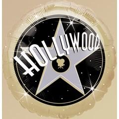 Hollywood 18-inch Metallic Foil Balloon!