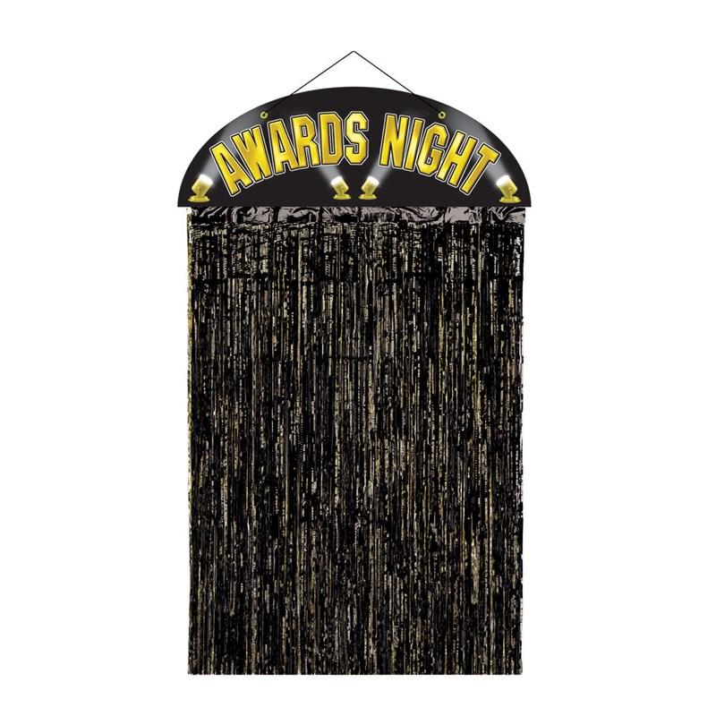 Awards Night Door Curtain for the 2015 Costume season.