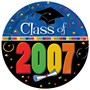 2007 Graduation 10 Dinner Plates (25 count)