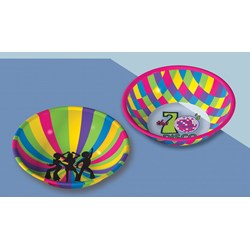 Disco Small Bowl Asst. (1 count)