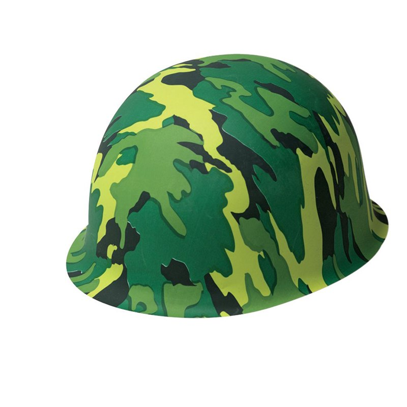Plastic Camouflage Hat for the 2015 Costume season.