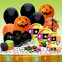 Halloween Squares Deluxe Halloween Party Kit (10 guests)