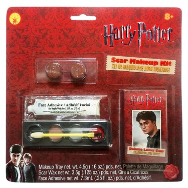 Scar Makeup on Results In  Halloween Costumes Harry Potter Scar   Makeup Kit