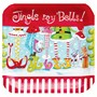 Jingle My Bells 7 Square Dessert Plates (8 count)